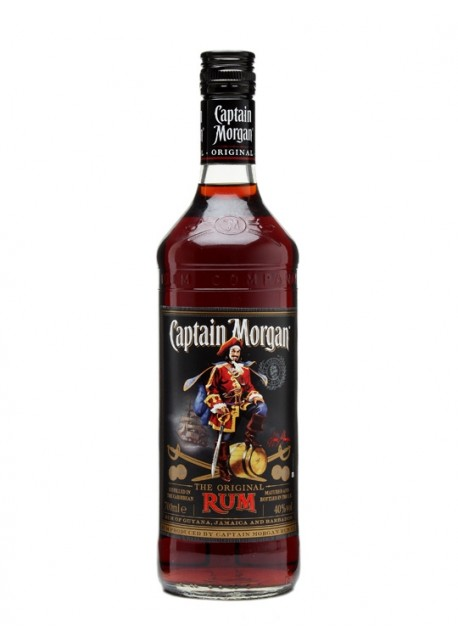 Rum Captain Morgan Dark 1lt