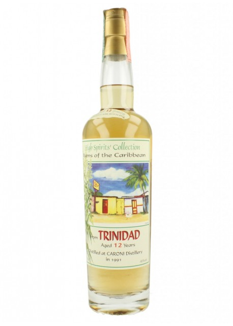 Rum Caroni High Spirit's collection Trinidad 12 Years Old - 1997