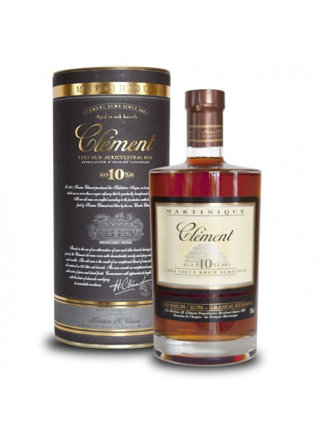 Rum Clément Aged 10 Years