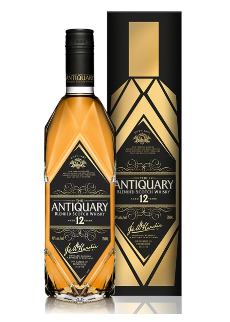 Scotch Whisky The Antiquary 12 Years Old Blended