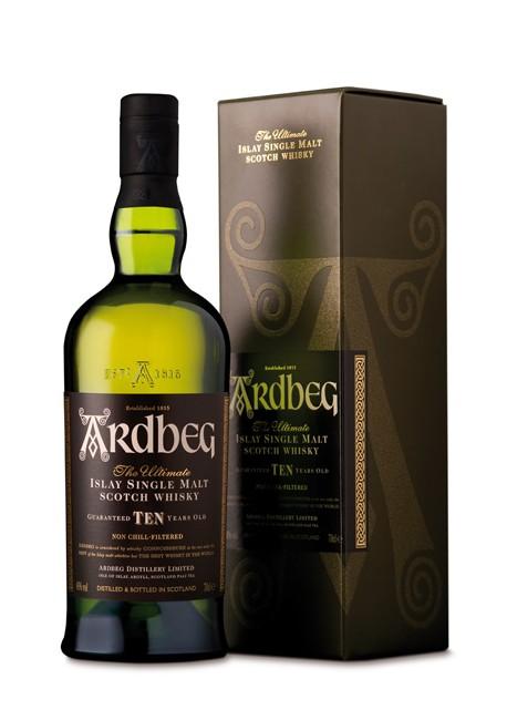 Scotch Whisky Ardbeg 10 Years Old Single Malt