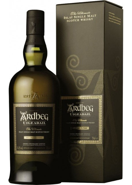 Scotch Whisky Ardbeg Uigeadail Single Malt