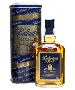 Scotch Whisky Ballantine's Gold Seal 12 Years Old Blended