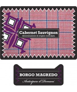 Etichetta Friuli Grave DOC Borgo Magredo Cabernet Sauvignon 2013