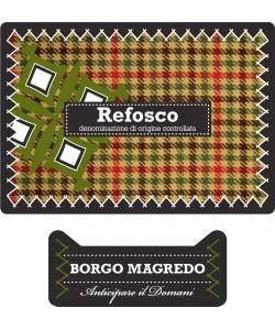 Friuli Grave DOC Borgo Magredo Refosco dal Peduncolo Rosso 2011