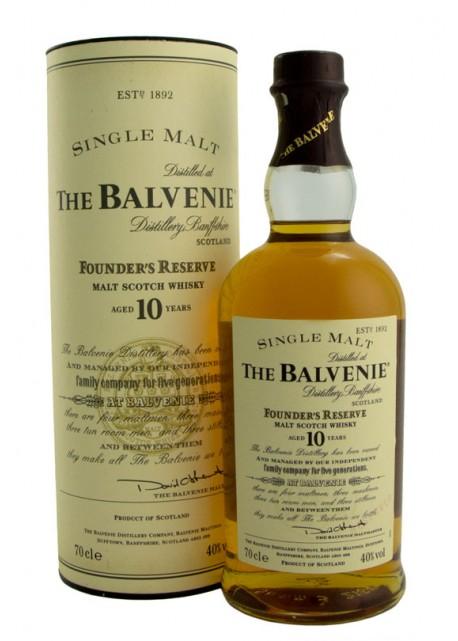 Scotch Whisky The Balvenie 10 Years Old Single Malt Founder Reserve