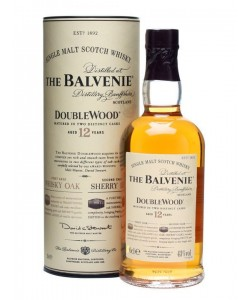 Scotch Whisky The Balvenie 10 Years Old Single Malt Double Wood