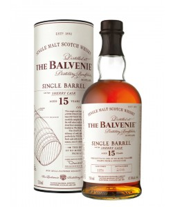 Scotch Whisky The Balvenie 15 Years Old Single Malt Single Barrel