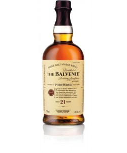 Scotch Whisky The Balvenie 21 Years Old Single Malt Port Wood