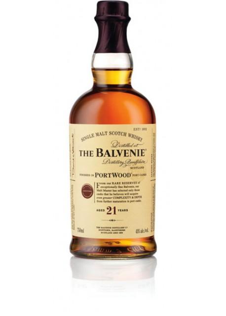Scotch Whisky The Balvenie 21 Years Old Single Malt Port Wood