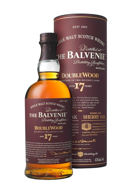 Scotch Whisky The Balvenie 17 Years Old Single Malt Double Wood