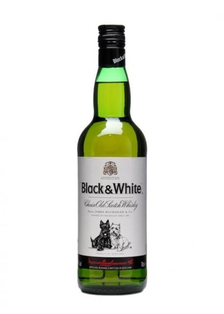Scotch Whisky Black & White Blended