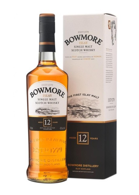 Scotch Whisky Bowmore 12 Years Single Malt