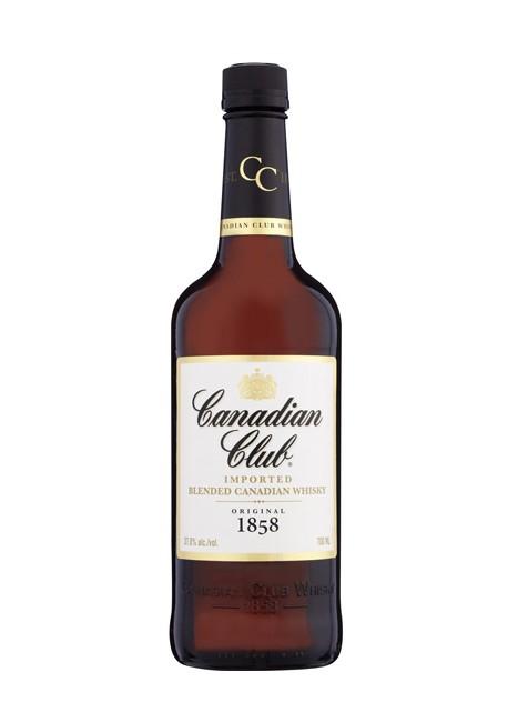 Whisky Canadian Club Blended 1lt