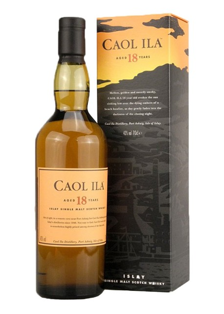 Scotch Whisky Caol Ila 18 Years Old Single Malt