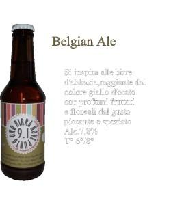 Birra Belgian Ale Birrificio 9.1