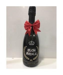 Prosecco De Faveri 1,5 l - Bottiglia personalizzata per auguri di Natale