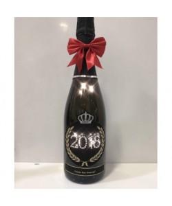 Prosecco DOC De Faveri Treviso Extra Dry - Bottiglia personalizzata New Year 2018