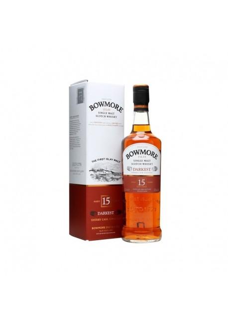 Scotch Whisky Bowmore 15 Years Darkest Single Malt