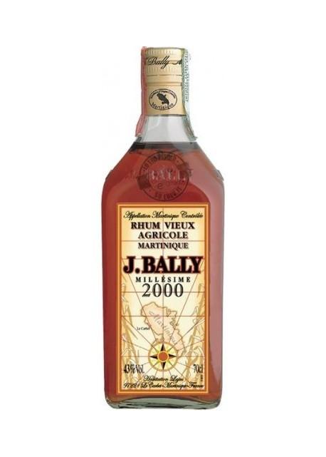 Rum J.Bally Vieux Agricole Millésime 2000