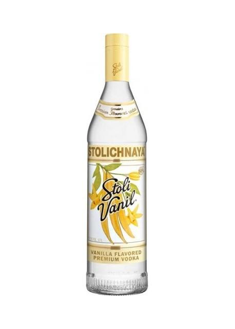 Vodka Stolichnaya Vaniglia 0,70 lt.