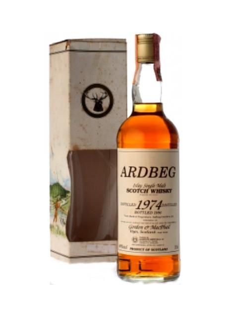 Whisky Ardbeg Single Malt Selezione Gordon & Macphail 1974 0,70 lt.