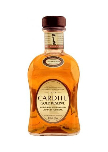 Whisky Cardhu Single Malt Gold Reserve 0,70 lt.