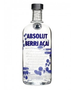 Vendita online Vodka Absolut Berri Açaì