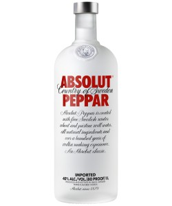 Vendita online Vodka Absolut Peppar (da 1 Lt)
