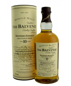 Vendita online Scotch Whisky The Balvenie 10 Years Old Single Malt Founder's Reserve