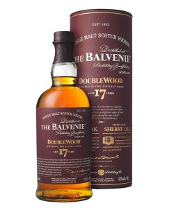 Vendita online Scotch Whisky The Balvenie 17 Years Old Single Malt Double Wood
