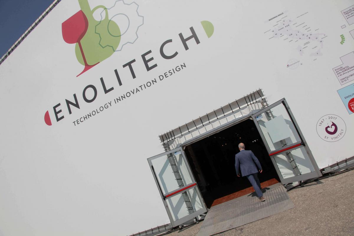 Vinitaly 2018: in contemporanea Enolitech, il SaloneInternazionale delle Tecniche per la Viticoltura, l'Enologia e delle Tecnologie Olivicole ed Olearie