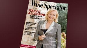 Marilisa Allegrini in copertina su Wine Spectators